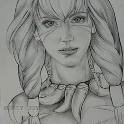 Raw Amazon girl by norlyjoy