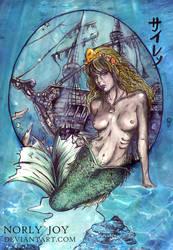 Siren of Atlantis by norlyjoy