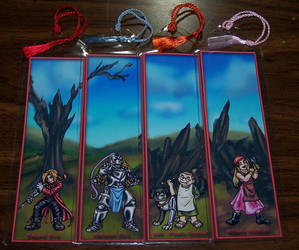 FMA Bookmark Lineup - R by Jianre-M