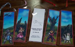 FMA Bookmark Set - R by Jianre-M