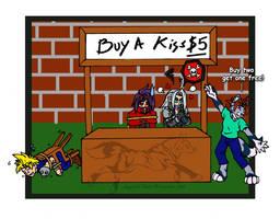 Buy A Kiss - Color by Jianre-M