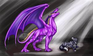 Dragon which serves God by Jianre-M
