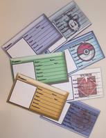 Custom ID Card Commissions by Jianre-M