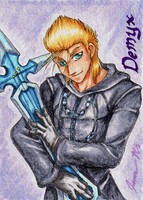Demyx - Playing Card by Jianre-M