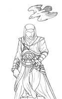 Altair Line Art by Jianre-M