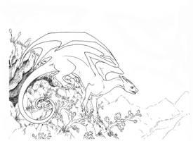 Gecko Dragon by Jianre-M