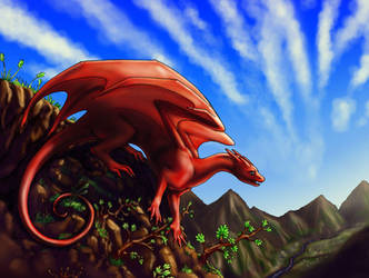 Gecko Dragon - Color by Jianre-M