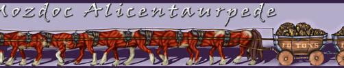Mozdoc Centaurpede Commission - Color by Jianre-M