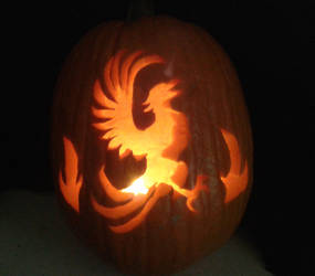 Phoenix Pumpkin by Jianre-M