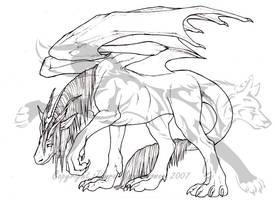 Equine Dragon by Jianre-M