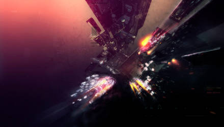 Interstellar Debris by nemuis
