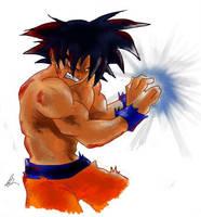 :-:Goku:-: by brocken-jr