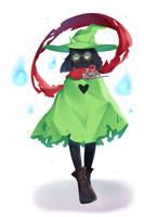 [+Video] Deltarune - Ralsei by muien02