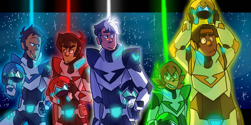 Voltron by ArcherDetective