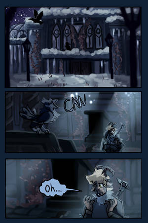 Fracture Page 1 by ArcherDetective