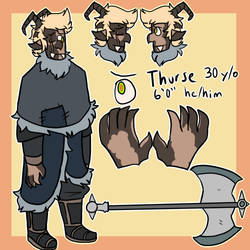 Thurse Ref by ArcherDetective