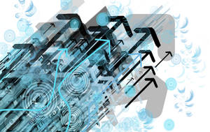 Abstract Vector Wallpaper by Jindra12