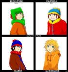 South Park Anime-ish. by x--blackrose--x