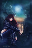Daughter Of Darkness by cemac