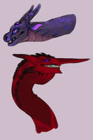 dragon babes by Gomgrut