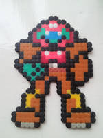 Bead Samus from Metroid by dragonbarnesz