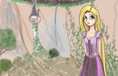 Tangled by IkouKaabii