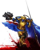 Warden of Light by Inkary