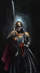 Commissar Ryan Graves by Inkary
