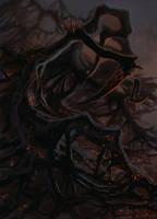 The Entity (Dead by Daylight fanart) by Inkary