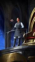 Lord-captain Akiva by Inkary