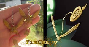 TimCampy Earrings by Auffallend