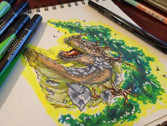 Inktober #2 by Auffallend