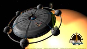 Starfleet Headquarters by JefferyWright