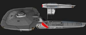 NCC-1701 Connie Variant 5 by JefferyWright