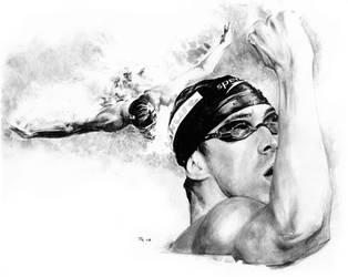 Michael Phelps by RobD4E