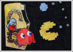 Classic Arcade Sketchcard 3 by RobD4E
