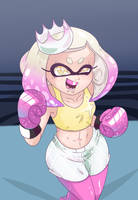 Pearl as a boxer by Netto-Painter