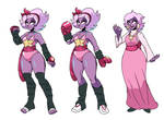Fluxia - Redesign for funsies .:Gift:. by Netto-Painter