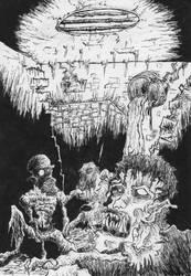 Dwellers in Darkness by FreakshowComics