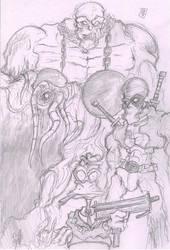 Howards Heroes by FreakshowComics