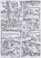 Mauley The Gator by FreakshowComics