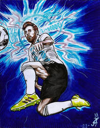 Messi by Ragonforz