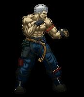 Bryan Fury from Tekken V by Niewidomy