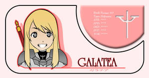 Galatea Claymore Card by niwre-san