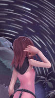 Watching the stars by Kairi927