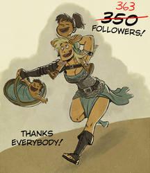 363 tumblr followers by SteveLeCouilliard