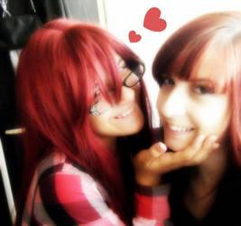 Aww my best friend by Stefania-chan