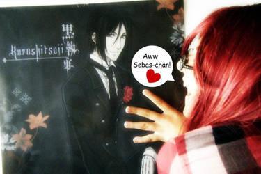 Aww Sebas-chan by Stefania-chan