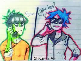 Who the fck is Murdoc by PinkishGiovanna