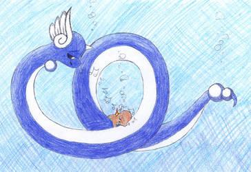 Dragonair's Underwater Lullaby by C-Studios